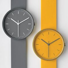 Uniform Wares 100 series grey and yellow