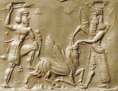 Gilgamesh Cylinder Seal #history