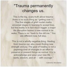 Coping with Trauma from Chronic Illness... this article is SO HELPFUL to anyone dealing with chronic illness!