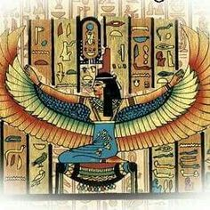 Depiction of Goddess Isis