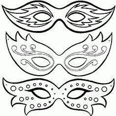 diy masks carnival - Google pretraživanje