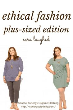 Ethical Fashion: Plus-Sized Ethical Clothing - Sara Laughed