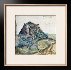 View of Val D'Arco in South Tyrol, 1495 Giclee Print by Albrecht Dürer - AllPosters.ca