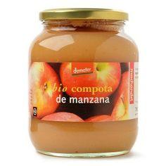 Compota de manzana de elaboración artesanal de agricultura ecológica-dinámica - Loveat!© -