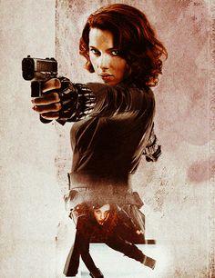 Black Widow Love the hair!