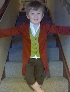 This three-year-old Frodo was the only kid in his class not dressed as a superhero. | 23 Kids Who Are Completely Bossing World Book Day