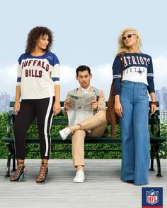 3768ebb9a High waisted jeans and tuxedo pants are on our mind. For a day around the