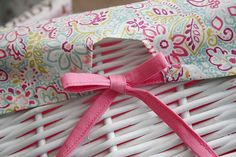 """Its a """"Johnson"""" thing....: Basket Liners for Baby's Nursery"""