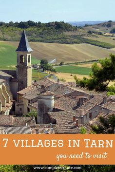 7 fairy-tale villages in Tarn you need to visit Real Fairies, Where To Go, Holiday Ideas, Fairy Tales, France, Mansions, House Styles, Building, Places