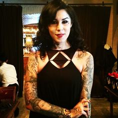 Kat Von D Talks About the Design Behind Her Makeup and Why She Prefers Herself Without It