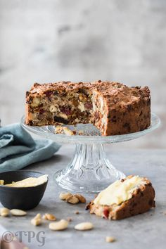 This delicious and simple to make breakfast cake will keep for at least a couple of days or freeze in portions so it keeps longer Paleo breakfast cake with nuts and dried fruits http://thepaleogirl.com/paleo-breakfast-cake-with-nuts-and-dried-fruits/