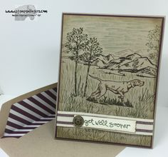 Stamps-N-Lingers.  The Wilderness Awaits stamp set, In the Meadow stamp set, Greatest Greetings.http://stampsnlingers.com/2016/03/26/stampin-up-the-wilderness-awaits-in-the-meadow/