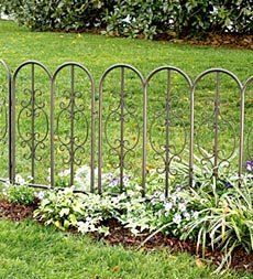 find this pin and more on outdoor dcor decorative fences - Decorative Garden Fencing