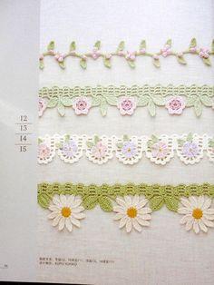 ISSUU - Asahi original crochet edging and braid 1 de Crowe Berry
