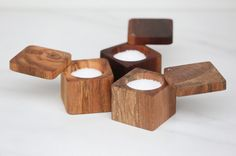 Salt Cellar with Lid, The Wooden Palate Salt Box, Small Wood Projects, Wooden Bowls, Wooden Plates, Wood Creations, Wooden Kitchen, Wood Boxes, Wood Turning, Tea Lights