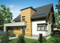Mój Dom Witold II CE Garage Doors, Outdoor Decor, Home Decor, Decoration Home, Room Decor, Home Interior Design, Carriage Doors, Home Decoration, Interior Design