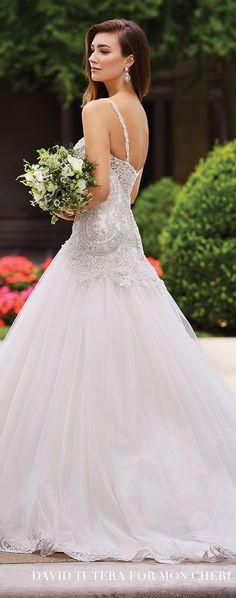 Wedding Dress by David Tutera for Mon Cheri 2017 Bridal Collection | Style No. » 117279 Carmelina