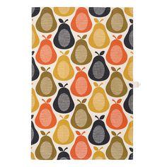 Orla Kiely - Pear Tea Towel