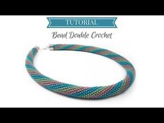 Bead crochet tutorial | Double Crochet | Bead double crochet tutorial - YouTube