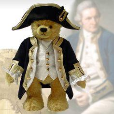 James Cook - Masterpiece Teddybär - Teddy-Fabrik - Der offizielle HERMANN-Coburg Teddy-eShop