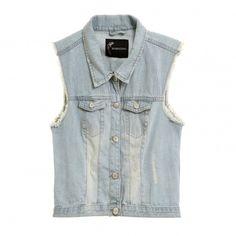 Colete Jeans Amanda. #fastfashion #streetstyle #look