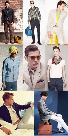 The Little Details: Pops Of Colour Lookbook Inspiration