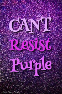Can't Resist Purple