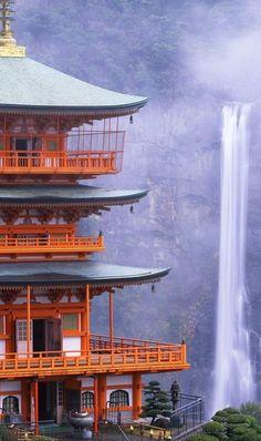 Nachi Falls in Nachikatsuura, Japan • photo: LTBL tv on Flickr