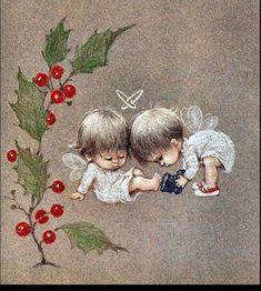 Рождественское волшебство в открытках Rute Morehead