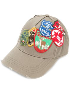 DSQUARED2 patch embroidered baseball cap.  dsquared2  cap Gorras 5d72abcade5