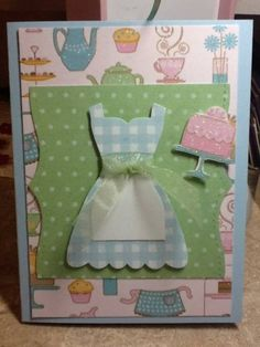 All dressed up apron by ket68 - Cards and Paper Crafts at Splitcoaststampers