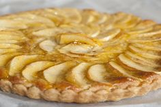 Delicious open apple and almond tart is a classic bake. Warm or cold it always pleases. See how easy it is to make with this recipe from Bendan Lynch. Almond Tart Recipe, Apple Tart Recipe, Pastry Recipes, Tart Recipes, Dessert Recipes, Delicious Desserts, Healthy Recipes, French Apple Tart, Bakewell Tart