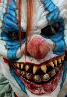 Clowns with teeth