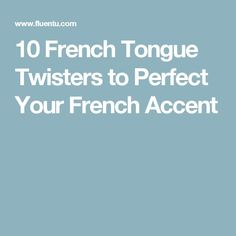 Looking for a fun new way to boost your French speaking skills? These classic French tongue twisters will be a great addition to your study routine! French Language Lessons, French Language Learning, Learn A New Language, French Lessons, Foreign Language, Spanish Lessons, Spanish Language, Learning Spanish, Spanish Activities