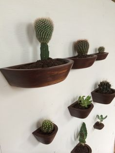 Wall Mounted Cactus Planters The Lorenas by andyvasquezfurniture