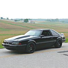 @ridetechjosh has one sick Foxbody #Mustang and he is our #FoxbodyFriday photo of the day. ______________________________ Follow @cjponyparts for everything Mustang!