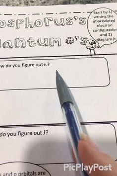 These doodle notes make learning quantum numbers, electron configuration, and orbital notation easier for your students. After chemistry teachers use these notes, they never go back. Great for high school or homeschool. High School Chemistry, Chemistry Lessons, Teaching Chemistry, Teaching Aids, Chemical Equation, Positive Comments, Learn Faster, Student Learning