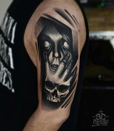 day of the dead skull tattoo tattoos and sketches pinterest tattoo piercings and tatting. Black Bedroom Furniture Sets. Home Design Ideas