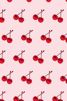 Flavor Paper - cherry scented wallpaper.