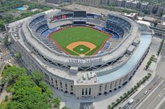 Yankee Stadium is a stadium located in the Bronx, in New York City. It is the home ballpark for the New York Yankees of Major League Baseball (MLB) and the home stadium for New York City FC of Major League Soccer (MLS) Baseball Park, New York Yankees Baseball, Ny Yankees, Baseball Scores, Baseball Players, Football Team, Yankee Stadium, Shea Stadium, Sports Stadium