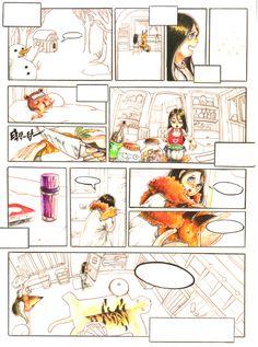애니벅스 칸만화 연구작 : 인간 수의사 '마리' : 네이버 블로그