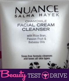 Beauty Test Drive: Nuance Salma Hayek Face Wash - The Frisky