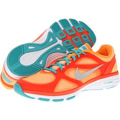 sale retailer 155fa 1830b Dual fusion tr bright citrus total crimson sport turquoise metallic  platinum, Nike, Shoes, at 6pm.com