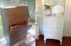 Use legs to upgrade thrifted furniture. | 19 Furniture Makeovers That Prove Legs Can Change Everything