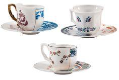 Hybrid - coffee cups & plates