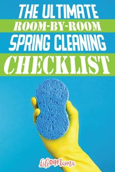 Since we're all busy mamas who can always use some guidance, here's the ultimate spring cleaning checklist for every room in your house. There's even a multi-page, free printable!