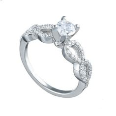 Spence Diamonds Engagement Rings - Style 7716