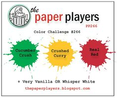 wee inklings: Paper Players 266 Very Merry Christmas