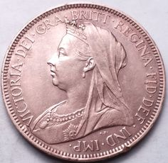 Amazon.com : GREAT BRITAIN 1901 1/2 PENNY....FOREIGN COIN : Everything Else