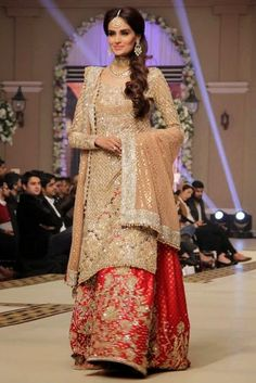 Bridal Wear created by Faraz Manan from 2015 Collection 2